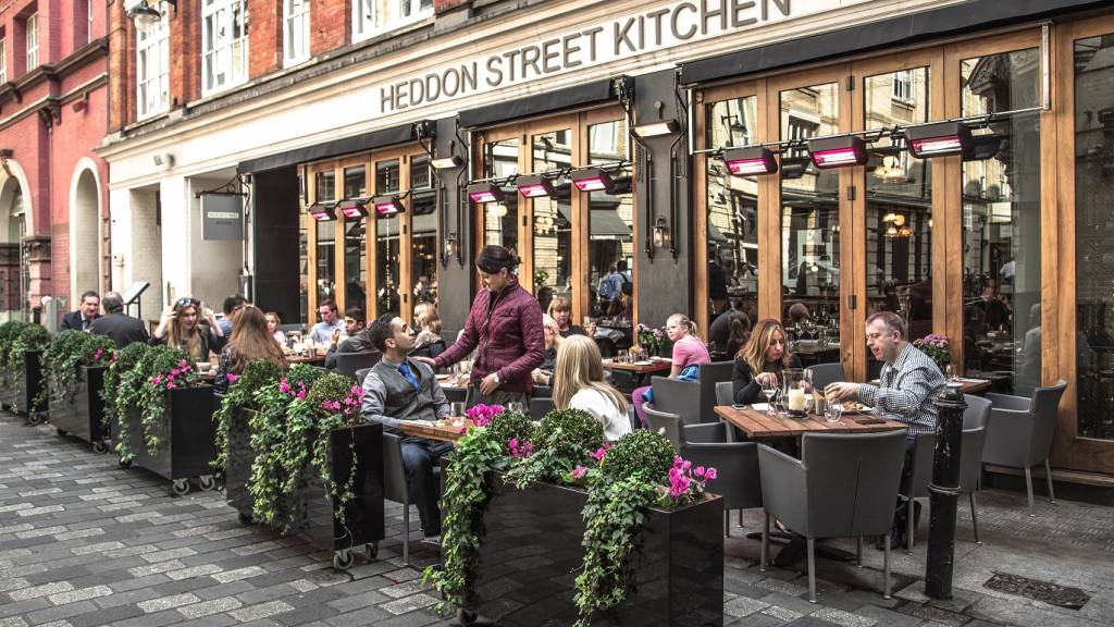 heddon street kitchen al fresco