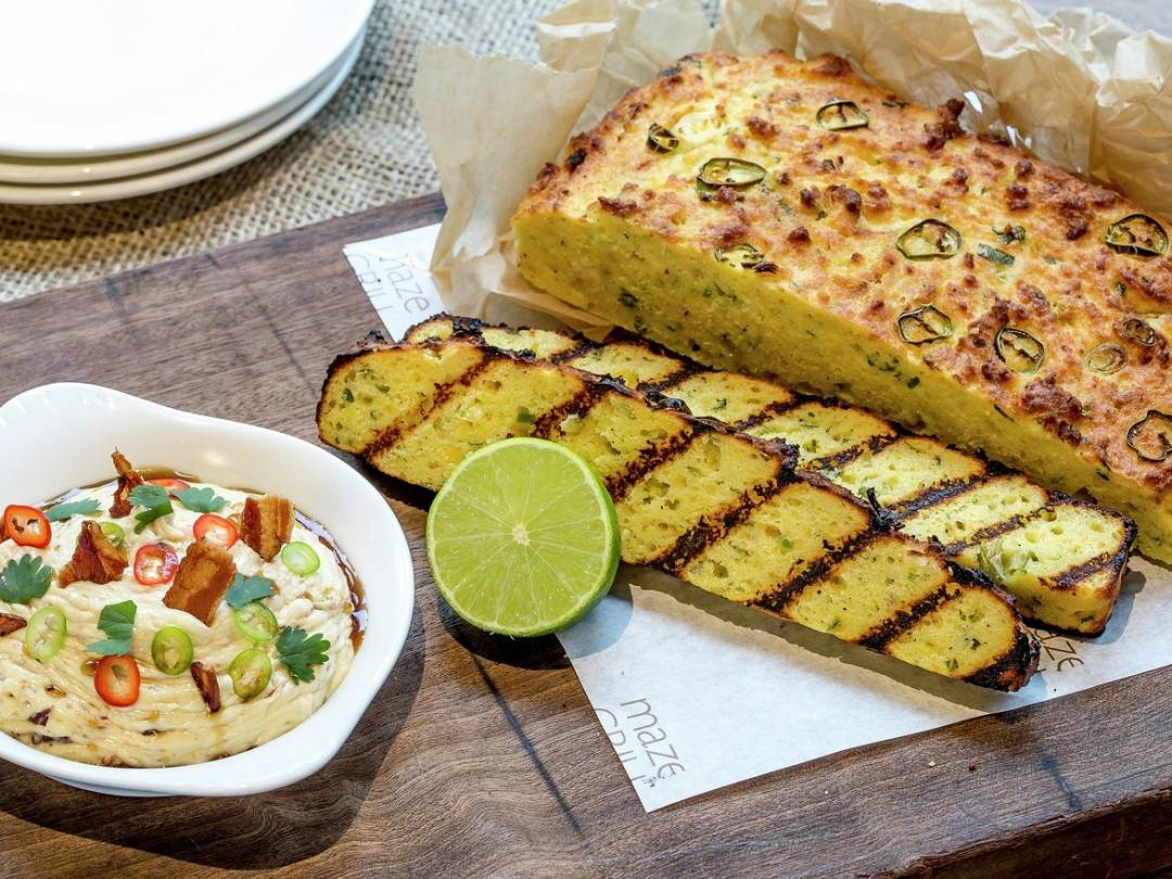 Cornbread With Maple Bacon Butter Gordon Ramsay Recipes