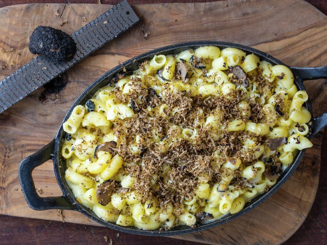 Truffle Mac & Cheese | Bread Street Kitchen | Gordon Ramsay Restaurants