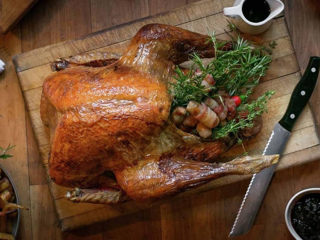 Gordon Ramsay Christmas Turkey.Sage Onion Stuffing