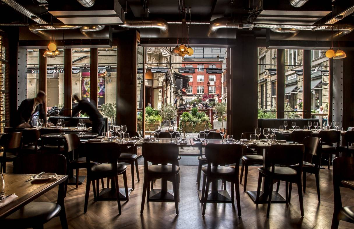 Heddon Street Kitchen Table Experience