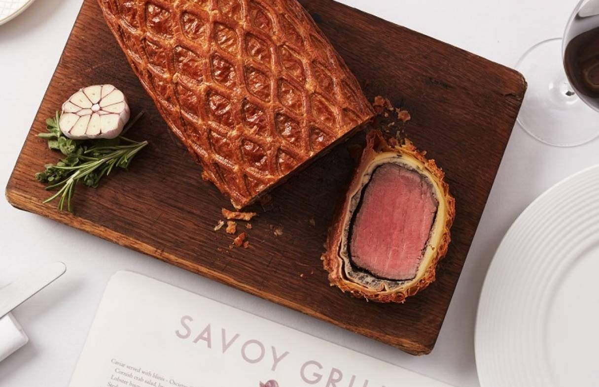 Savoy Grill Christmas Gifting Tablet