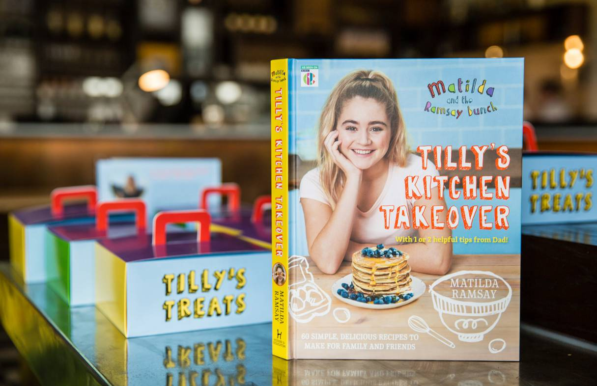 Tilly Ramsay Book Tillys Kitchen Takeover