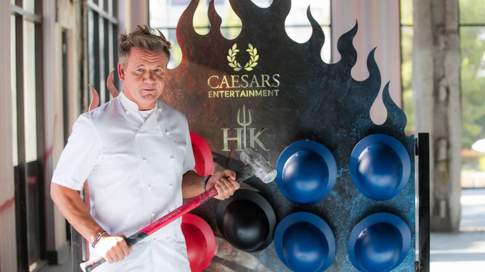 Hell's Kitchen Restaurant - Caesars Palace | Gordon Ramsay Restaurants