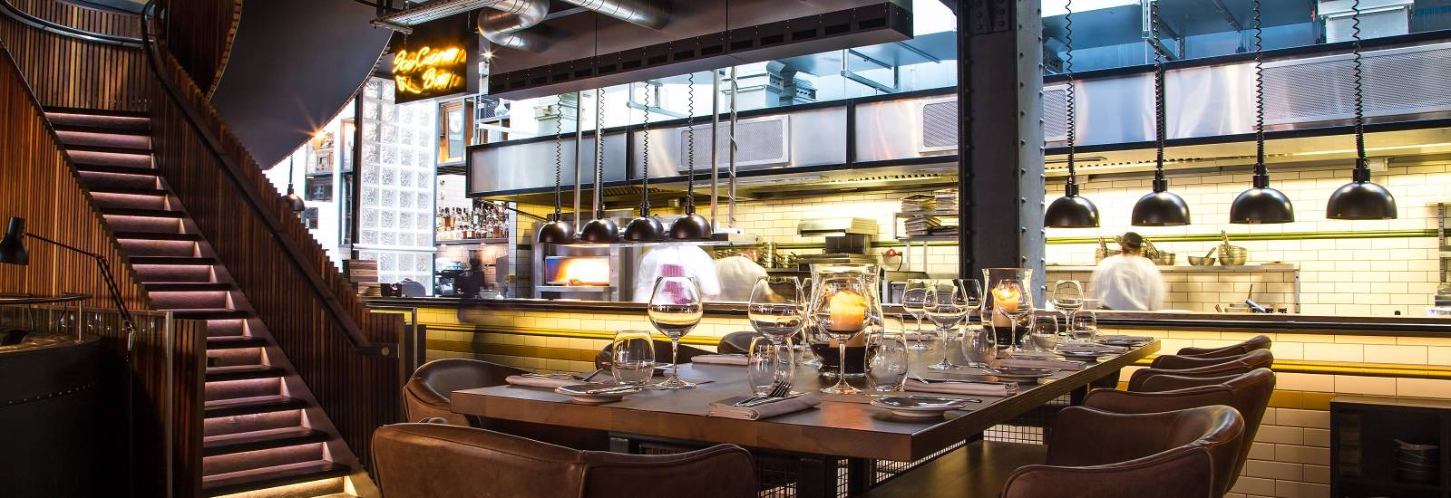 Kitchen Table Experience  Group Dining  Heddon Street Kitchen