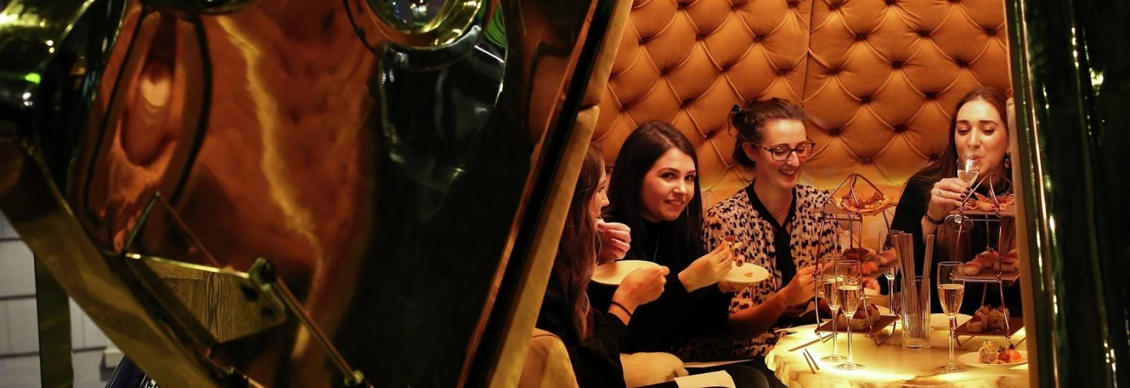 Street Lounge | Private Dining in St Paul's | Gordon Ramsay