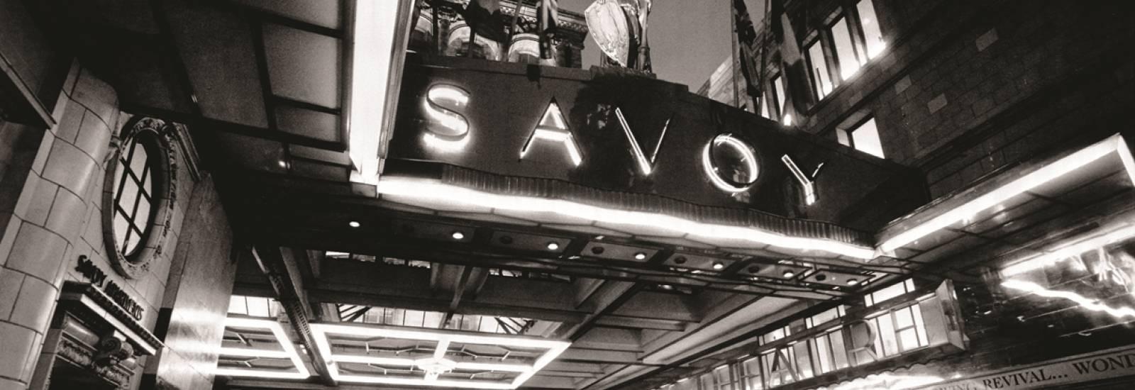 savoy theatre meal deals