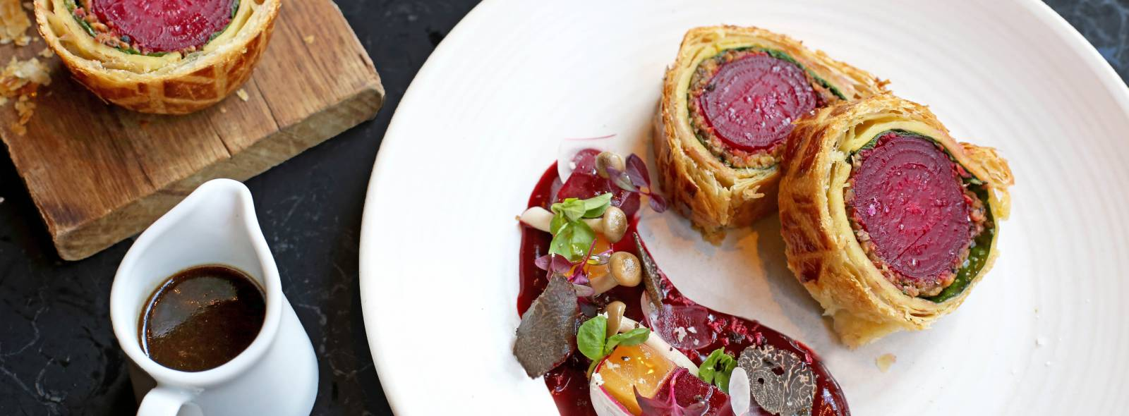 Vegan Wellington website