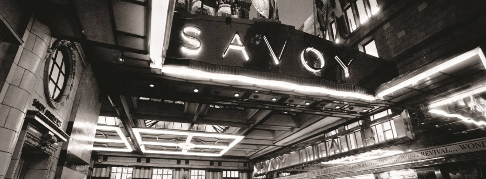 pre post theatre dining savoy grill