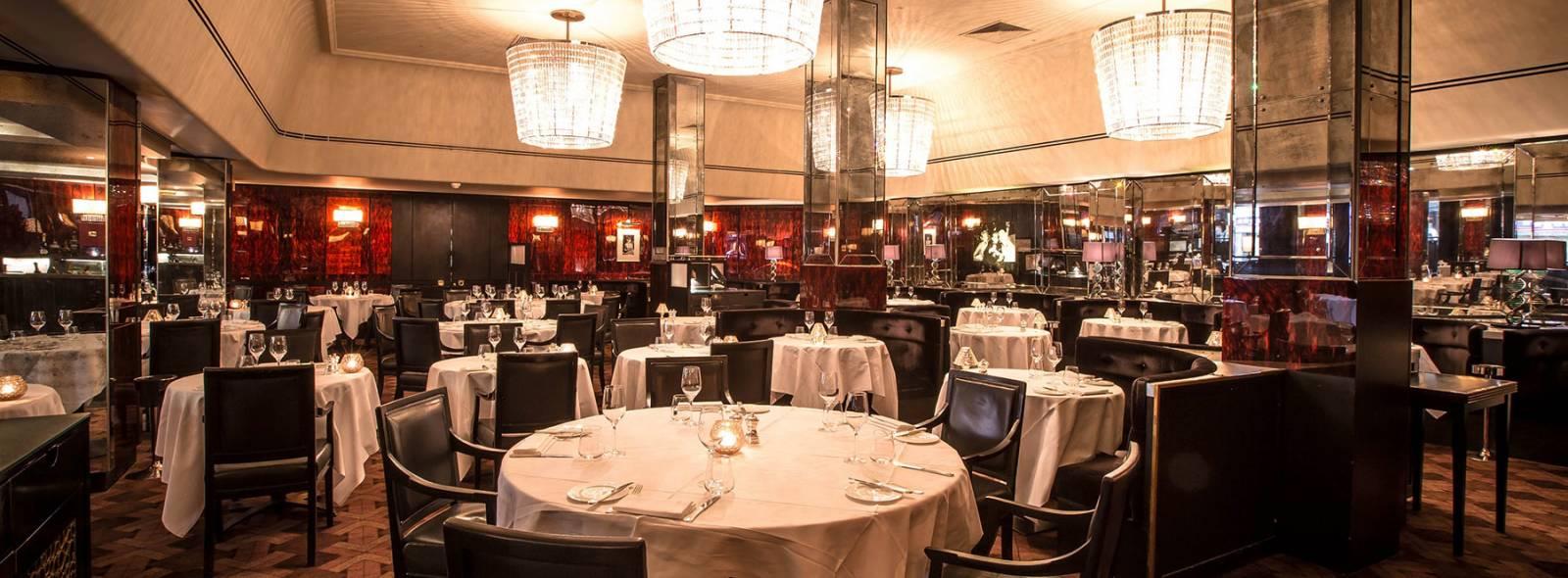 Savoy Grill Kitchen Table