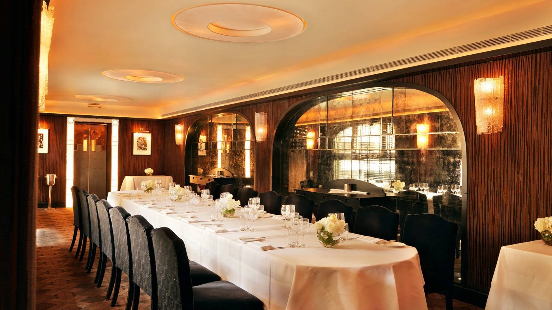 the savoy grill interior