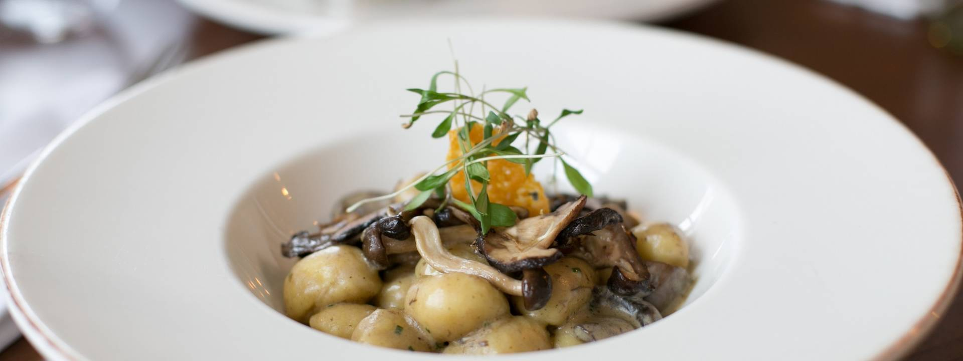 Mushroom and Gnocchi recipe The Narrow