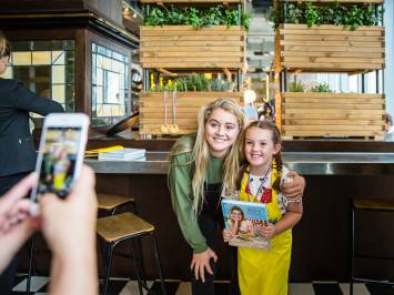 Tilly Ramsay Book and Menu launch