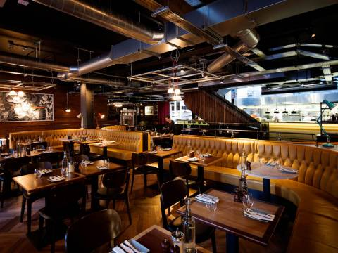 Heddon Street Kitchen Restaurant Soho Piccadilly Circus