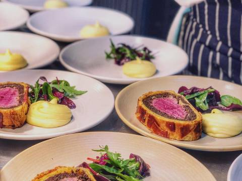 Heddon Street Kitchen Restaurant Soho Piccadilly Circus Gordon Ramsay