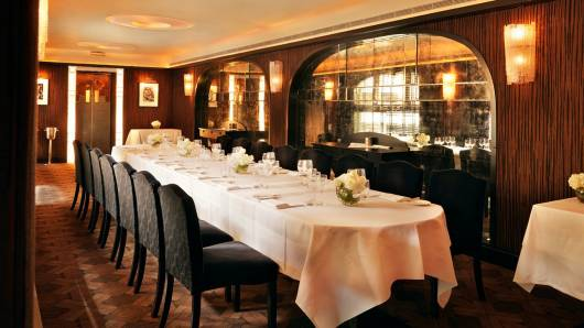 Savoy Grill Doyly Carte Room