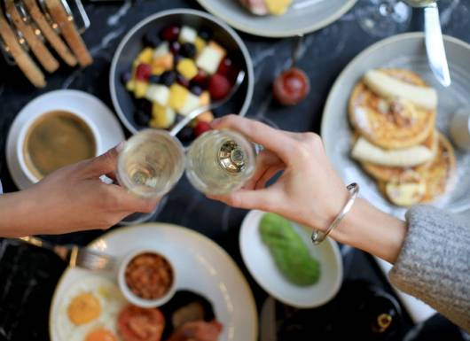 Bread Street Kitchen prosecco brunch voucher