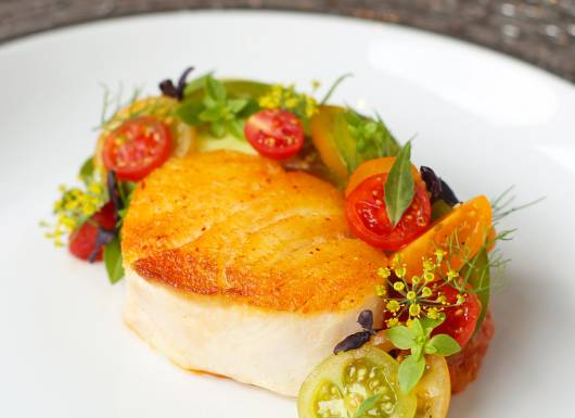 Petrus Cod Dish with tomatoes 800px