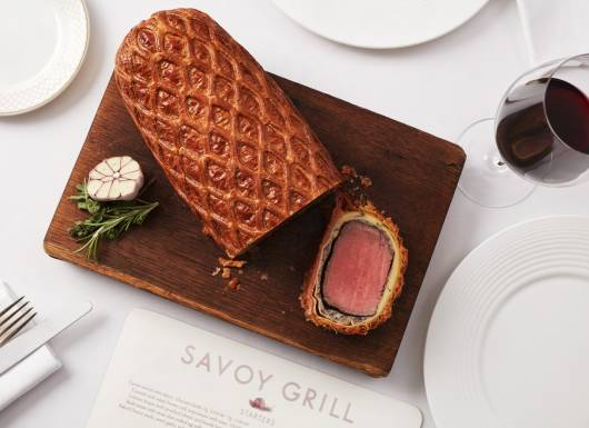 Savoy Grill Beef Wellington Experience Voucher