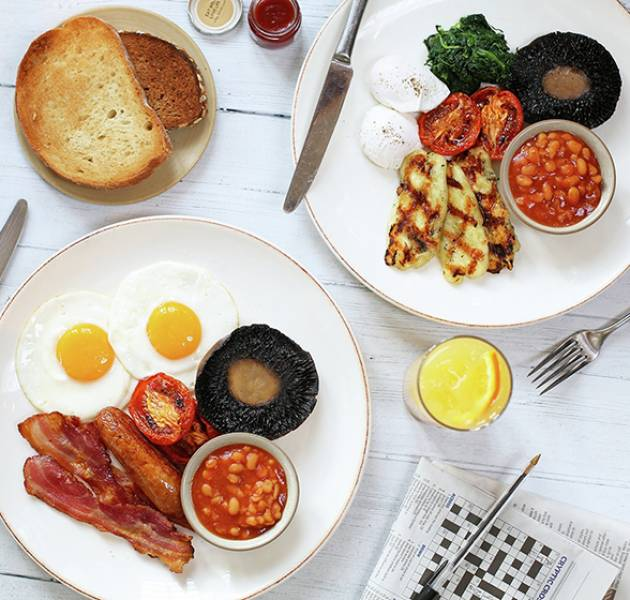 TN English Breakfast and Veggie Breakfast MOBILE